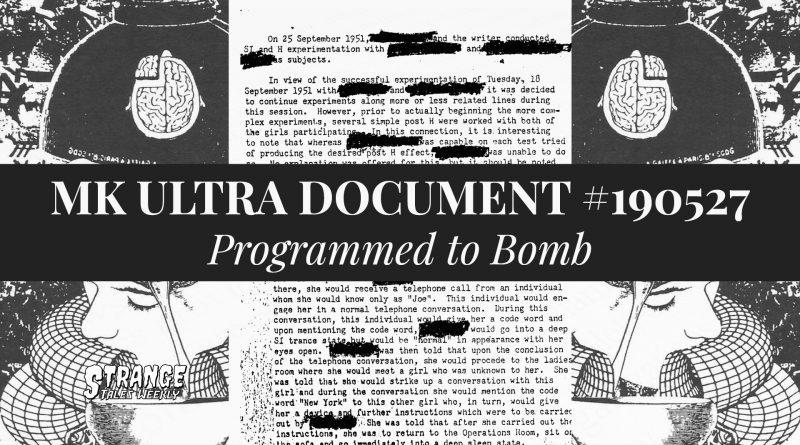 mk ultra document