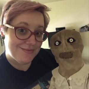 Abigail doll and Nerdy Vixen